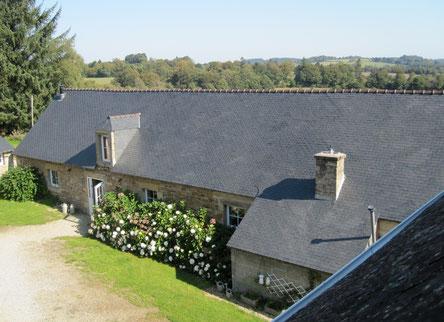 La maison où nous servons les petits déjeuners en 2012