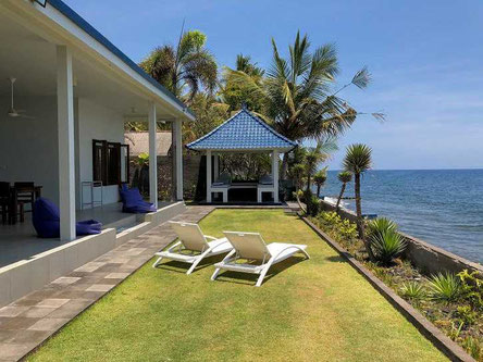 Air Sanih beachfront villa for sale by owner.