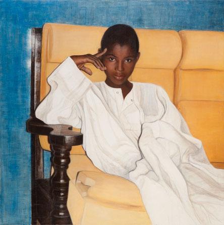 Kalifas Cousin ,  Leinwand,120 x 120 cm