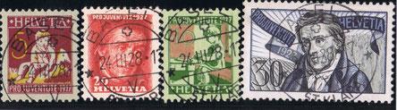 J 41 - 44   Mi.Nr.: 222-225