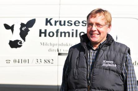 Gründer der Meierei Kruses-Hofmilch: Hans-Hinrich Kruse