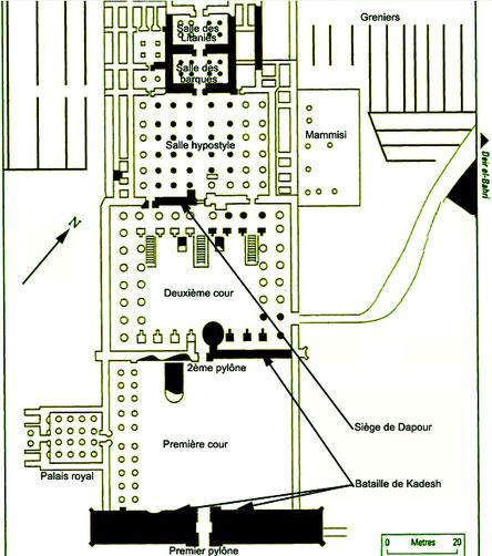 Ramesséum - Ramsès II - Thèbes-Ouest - Egypte