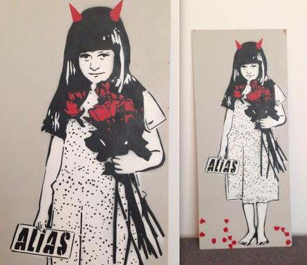 Street Art Bild von ALIAS aus Berlin.