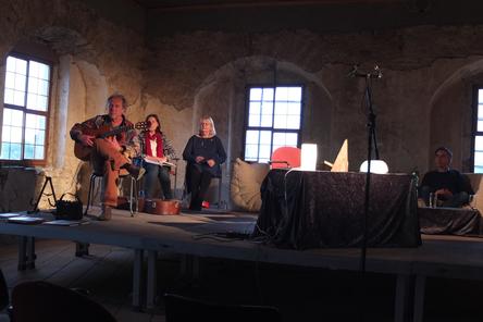 Einige Akteure bei der Probe. Foto: Ch. Henk