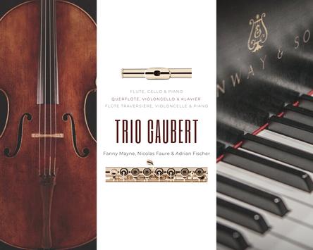 Trio Gaubert: Fanny Mayne, Nicolas Faure & Adrian Fischer