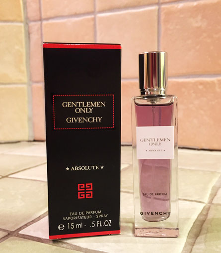 2016 - GENTLEMEN ONLY - ABSOLUTE - VAPORISATEUR EAU DE PARFUM 15 ML