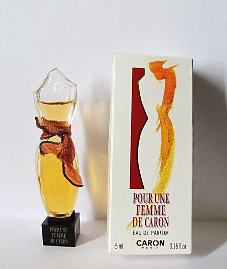 POUR UNE FEMME DE CARON - EAU DE PARFUM 5 ML