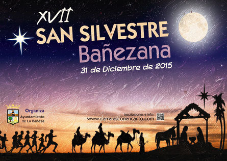 XVII SAN SILVESTRE BAÑEZANA - La Bañeza, 31-12-2015