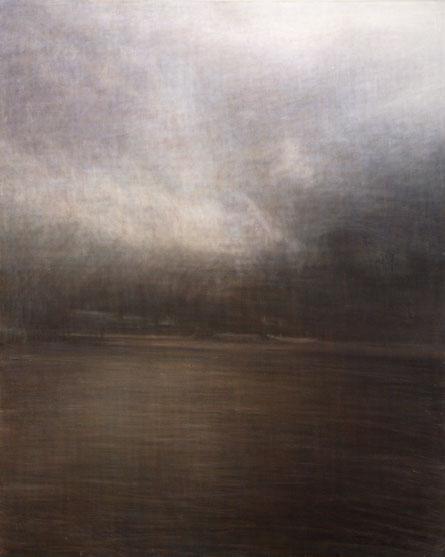 """Untitld (death and rebirth 8) 162.1x130.3cm, oil on canvas, 2005"