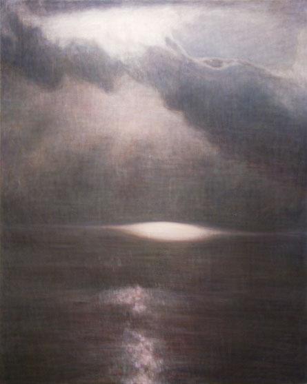 """Untitld (death and rebirth 7) 162.1x130.3cm, oil on canvas, 2005"