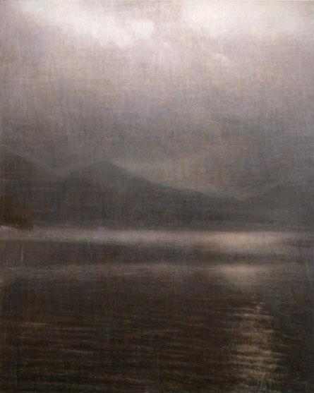 """Untitld (death and rebirth 9) 162.1x130.3cm, oil on canvas, 2005"