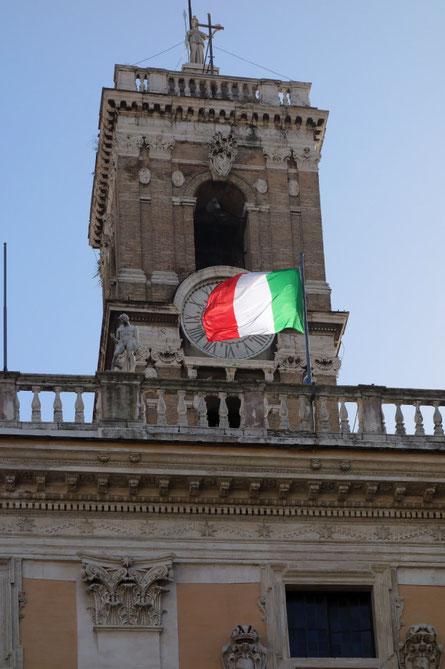 Rom - Piazza del Campidoglio - Senatorenpalast