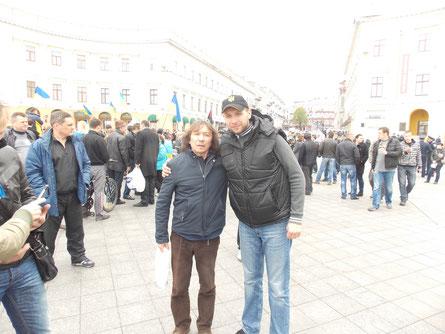 Владимир прибыл в Одессу на поддержку Одесского Евромайдана !