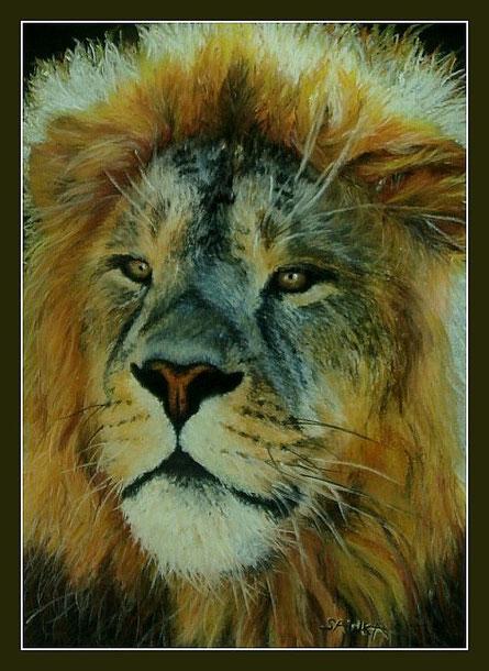 Animaux pastel les pastels de sawka - Animaux du roi lion ...