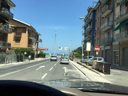 Arriving in Ancona