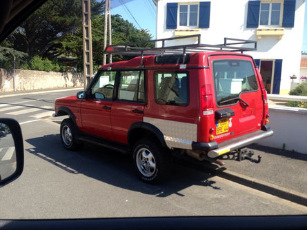 Land Rover Discovery Offroad-Umbau