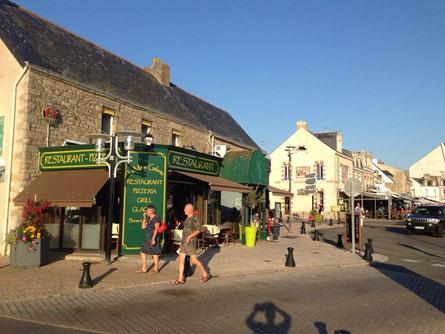 Schöne Bretonische Häuser