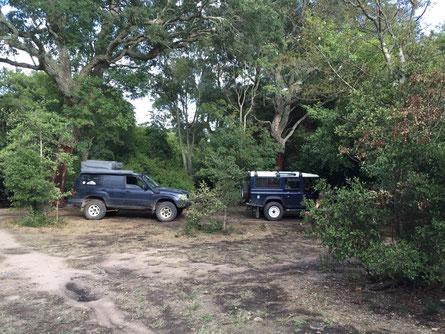 Per Zuäfall uf nä einsamä Naturcamping gstossä...