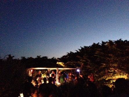 Reggae Concert bei der Surf-Schule am Strand. Whutt a night.. :-)