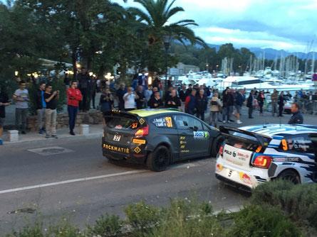 Ifahrt vo dä WRC Teilnähmer