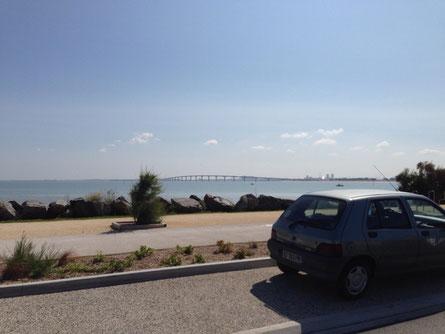 Brücke vom der Ile de Ré nach la Rochelle