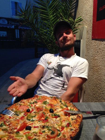 U di feinschti Pizza gha...