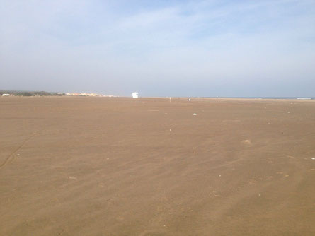 Ä biiig beach without peoplez