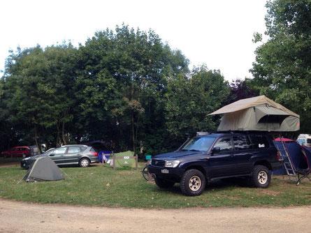 Erstes Camp in la Rochelle