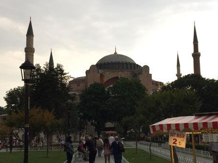 U das isch d Hagia Sophia (oder so ähnläch:-)