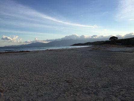 Saleccia-Strand ir Desert Agriatis