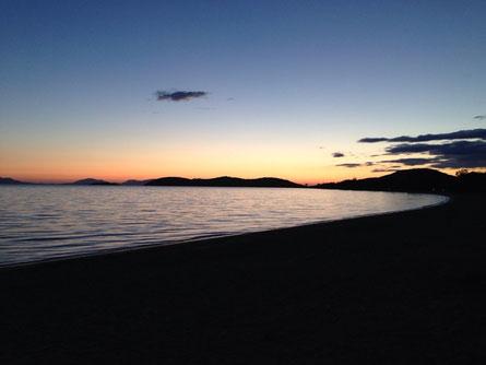 Letzter Abend in Griechenland