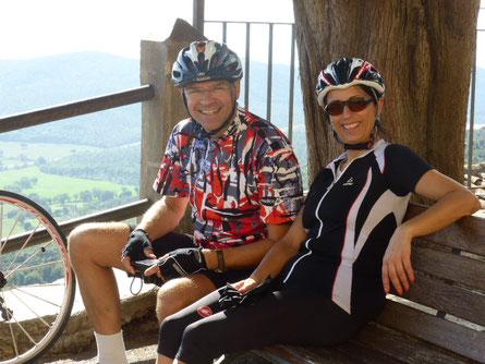 Individuelles Rennradfahren