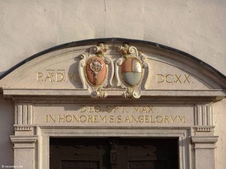 Portal, Schutzengelkirche Eichstätt
