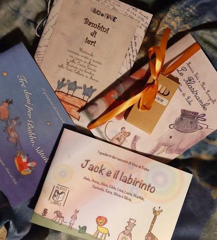 quaderni libri bambini nonni filastrocche conte canzoni di una volta nonni babbo natale vendita