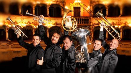 2018 Gomalan Brass Quintet                                                     Marco Braito (tromba), Marco Pierobon (tromba), Nilo Caracristi (corno), Gianluca Scipioni (trombone), Stefano Ammannati (tuba).