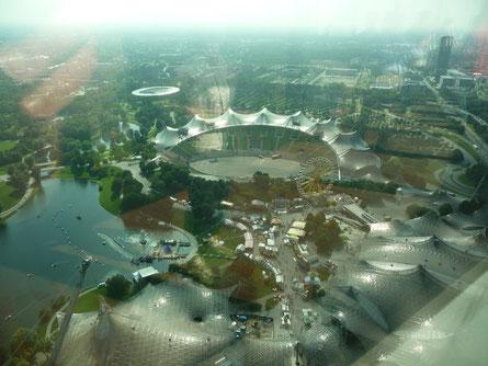 vue du stade olympique