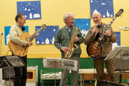 Plaisir des répétions pour des concerts jazzy joyeux !