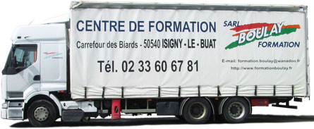Formation titre professionnel conducteur routier