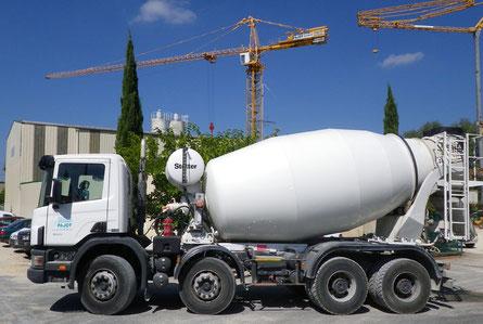 transport de béton frais à 30 km autour de villeréal, un service proposé par Pajot Entreprise