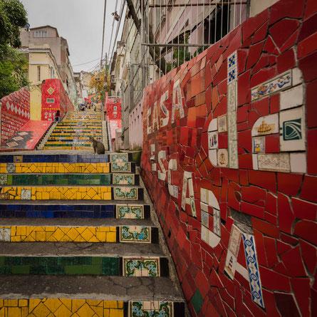 escadaria selarón | rio de janeiro | brazil 2017