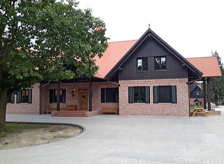 Der komplette Innenausbau eines neu errichteten Jagdhauses nahe Berlin.