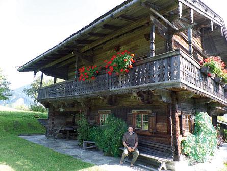 Wirleitner Jagdhaus am neuen Standort Altholz