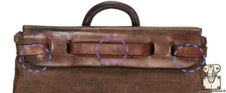 Devant - Steamer bag - 1er generation Louis Vuitton
