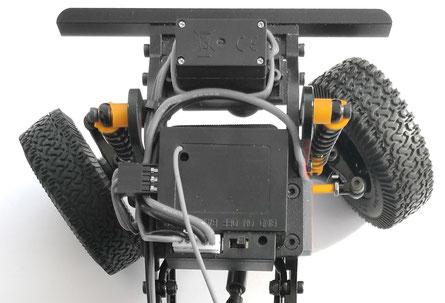crawlster®D18 Lenkeinschlag