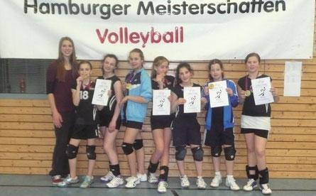 Unser Hamburger Meister U13 2014