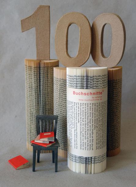 Die 100. Buchschnitte