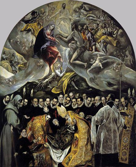 Погребение графа Оргаса