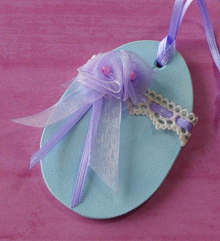 Ostern - Blumen aus Geschenkbändern - DIY-Projekt