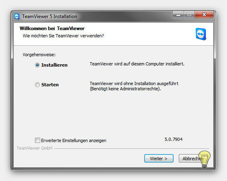 Teamviewer 5 Installations Routine