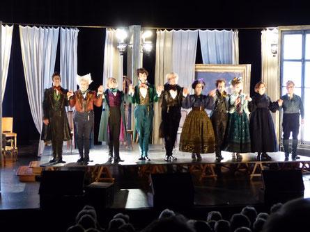 Théâtre d'Orléans 8 novembre 2016 - Le Faiseur - photo ataojmc